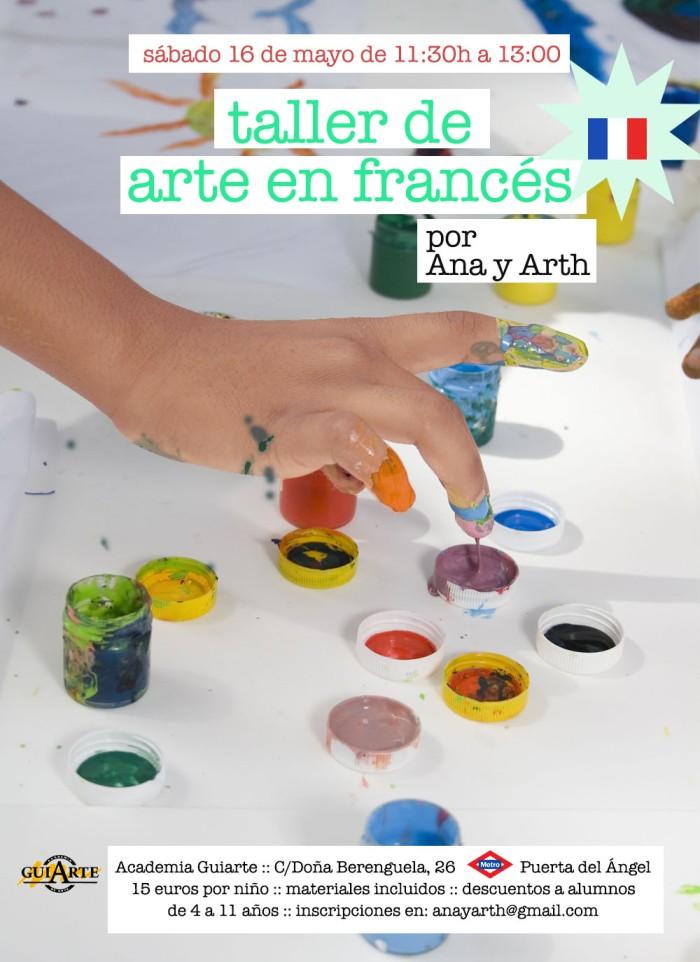 taller de arte en francés